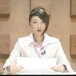 女子アナがニュース番組で顔射されてるっ