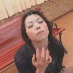 北条麻妃さんの妖艶なフェラチオ&顔面ぶっかけ