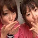 【篠めぐみXつぼみ】テコキ&フェラチオで射精させたザーメンを美味しそうにゴックン