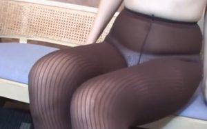 パンスト履いた美脚な女体が堪能出来るフェチ動画
