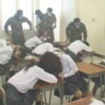 催眠ガスで女子校生を眠らせ集団輪姦レイプ