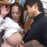 巨乳図書館司書がレイプされまくり【田中瞳】