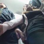 バス内で無差別にチンコを狙う痴女集団が出現