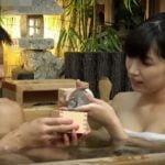 混浴温泉で美女と一杯!ほろ酔い加減でズボズボセックス