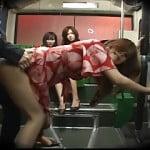 バスの中でセックスが始まっちゃう世界