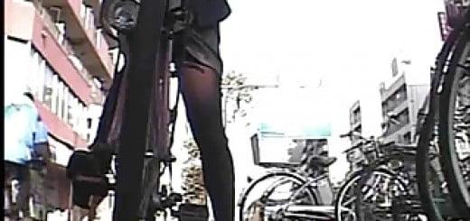自転車 美脚