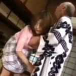 義父の性処理をさせられる巨乳若妻【浜崎りお】