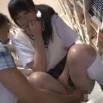 図書館で女子校生が痴漢に襲われる!