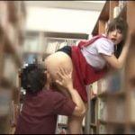 図書館で働くミニスカ司書のプリ尻に顔面埋めてレロレロ