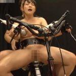 電マ自転車で潮吹き★サドルびしょ濡れ!!【澁谷果歩】